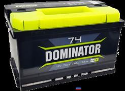 Аккумулятор 74.0 Dominator обратный низкий