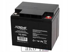 Аккумулятор 12v 40 Ah Xtreme VRLA (ОТ 40-12)