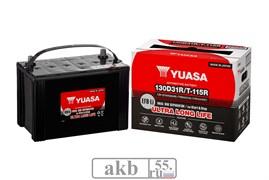 Аккумулятор 87 YUASA EFB 130D31R прямой