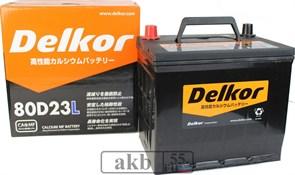 Аккумулятор 68 Delkor 80D23L(JP) обратный