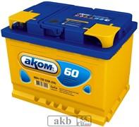 Аккумулятор 60 Аком Евро обратный