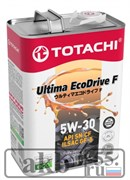 TOTACHI Масло моторное 5W-30 Ultima EcoDrive F Fully Synthetic SN/CF 4L