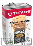 TOTACHI Масло моторное 5W-40 Grand Touring Fully Synthetic SN 4L