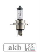 Лампа H4 12V 60/55W P43t-38 C1 +30% Vision Philips 12342PRC1