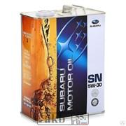 SUBARU 5W-30 SN 4L