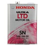 Honda Ultra 5w30  LTD  (синтетика) 4L ж/б
