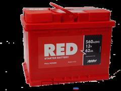 Аккумулятор 62 RED technlogy прямой